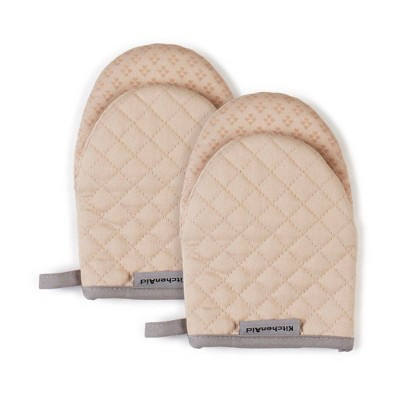 "KitchenAid 2pk 5.5""X8"" Asteroid Mini Mitts Beige"
