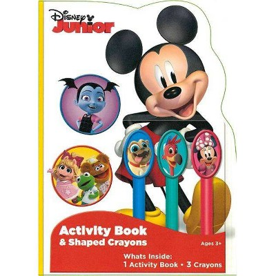 Disney Jr Activity Book With Crayons - Target Exclusive Edition
