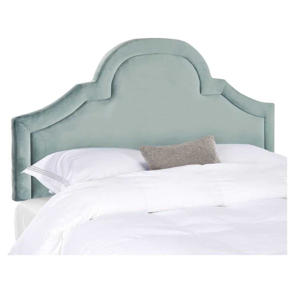 Kerstin Arched Headboard - Wedgewood Blue (Queen) - Safavieh