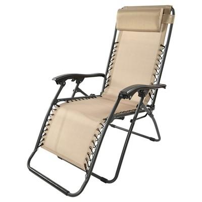 Zero Gravity Lounge Chair - Tan - Threshold™
