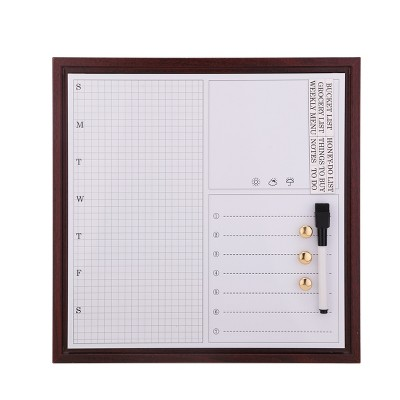 White Board Calendar 12x12 with Sheet Magnets - Threshold™