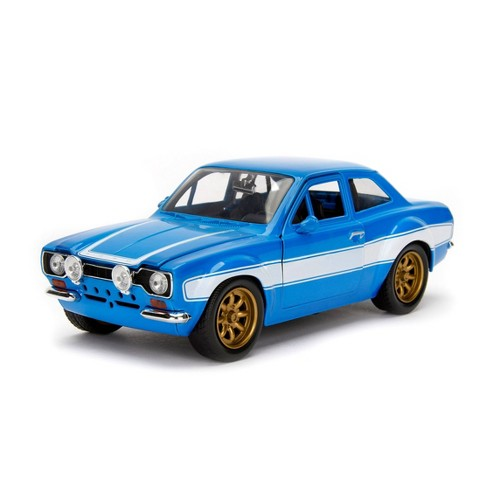 Jada Toys Fast & Furious 1974 Ford Escort Die-Cast Vehicle 1:24 Scale Glossy Blue - image 1 of 4