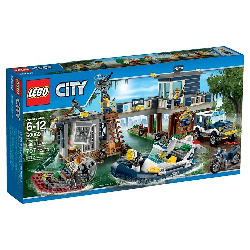 LEGO® City Police Swamp Police Station 60069 - image 1 of 18