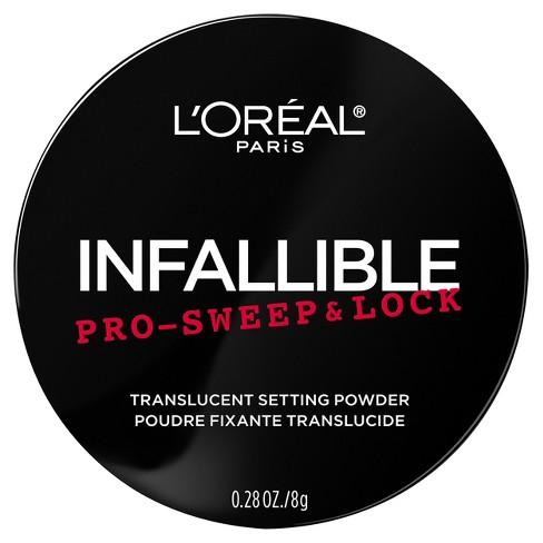 L'Oral Paris Infallible Pro Sweep & Lock Loose Setting Powder Translucent- 0.28oz - image 1 of 3