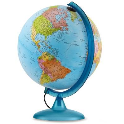 10  Earth & Sky Illuminated World Globe - Waypoint Geographic