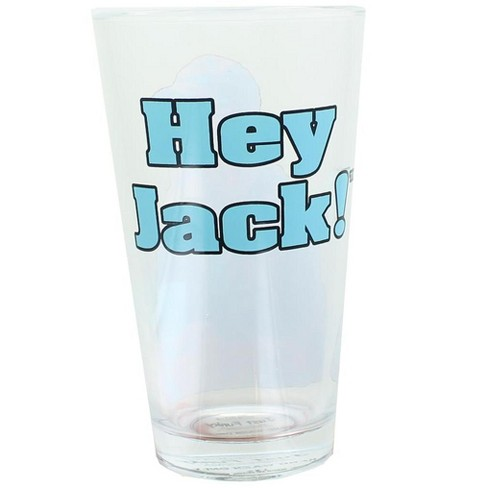 Just Funky Duck Commander Si Hey Jack 16oz Clear Pint Glass - image 1 of 2