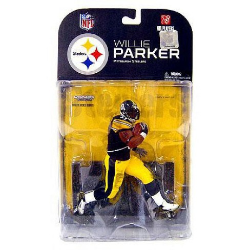 McFarlane Toys NFL Pittsburgh Steelers Sports Picks Series 17 Willie Parker Action Figure [White Wrist Tape] - image 1 of 1