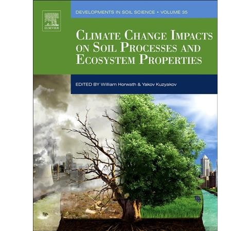 Climate Change Impacts on Soil Processes and Ecosystem Properties -  Reprint (Paperback) - image 1 of 1