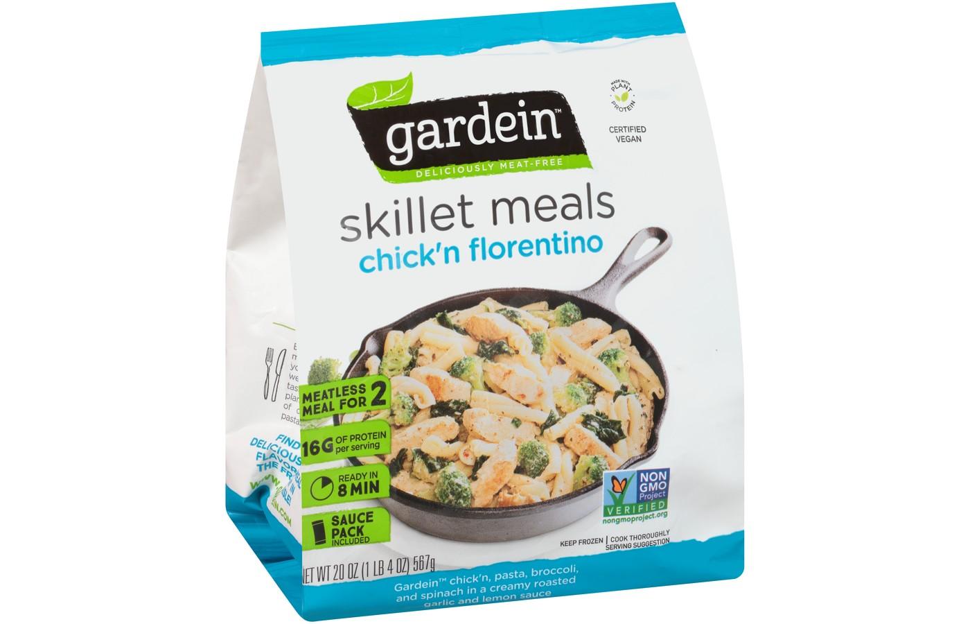 Gardein Chick'n Florentine Frozen Skillet Meals - 20oz - image 1 of 1