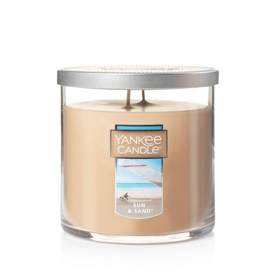 12.5oz Lidded Glass Jar 2-Wick Sun and Sand Candle - Yankee Candle