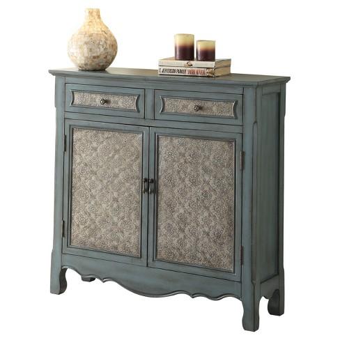 Console Table Antique Blue. Shop all Acme Furniture - Console Table Antique Blue : Target
