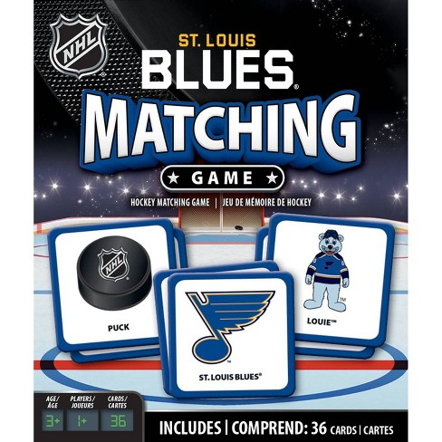 NHL St. Louis Blues Matching Game - image 1 of 3
