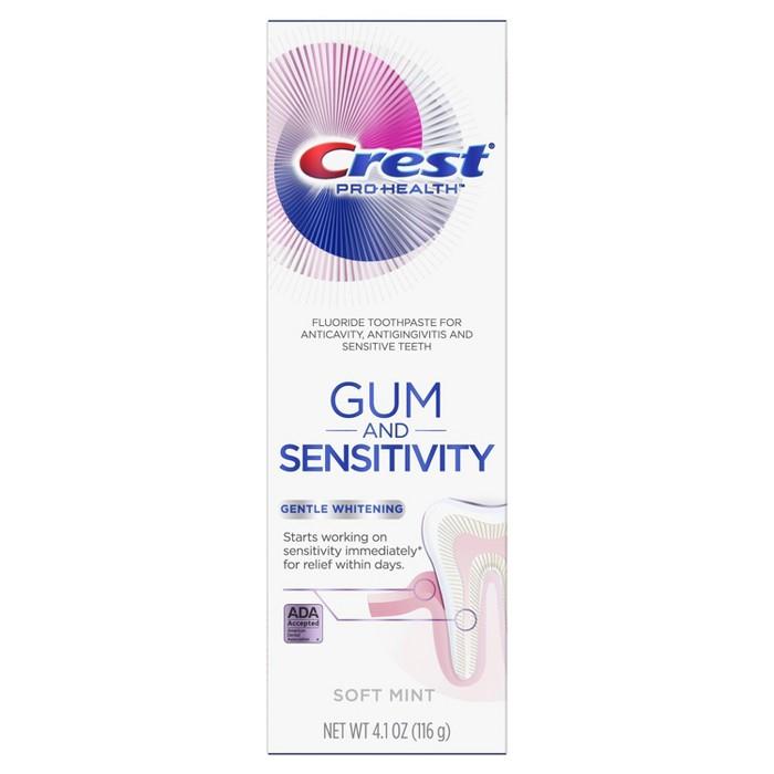 Crest Pro-Health Gum And Sensitivity Sensitive Toothpaste Gentle Whitening - 4.1oz : Target
