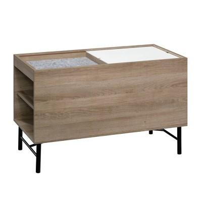 Anda Norr Storage Cabinet Sky Oak - Sauder