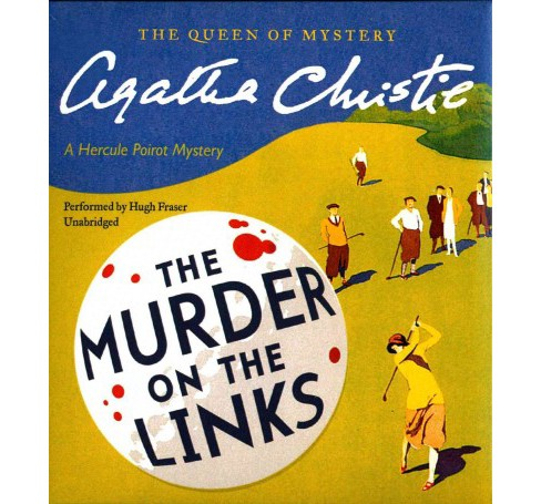 Murder on the Links (Unabridged) (CD/Spoken Word) (Agatha Christie) - image 1 of 1