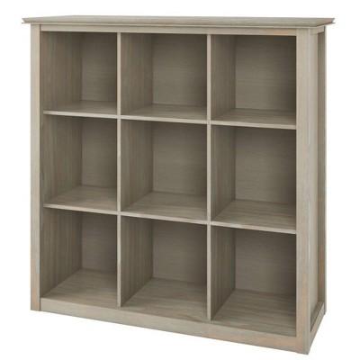 "45""x43"" Stratford 9 Cube Bookcase and Storage Unit - Wyndenhall"
