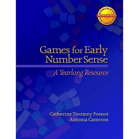 Games for Early Number Sense - (Contexts for Learning Mathematics) (Paperback) - image 1 of 1
