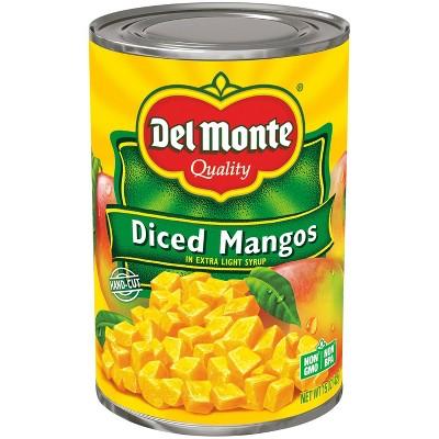 Del Monte Diced Mangos 15oz