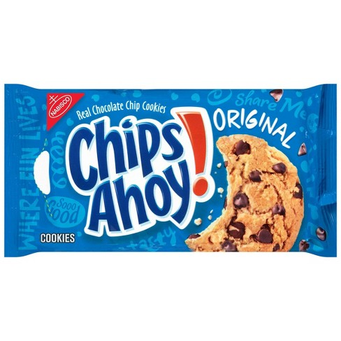 Surprising Chips Ahoy Original Chocolate Chip Cookies 13Oz Target Funny Birthday Cards Online Fluifree Goldxyz