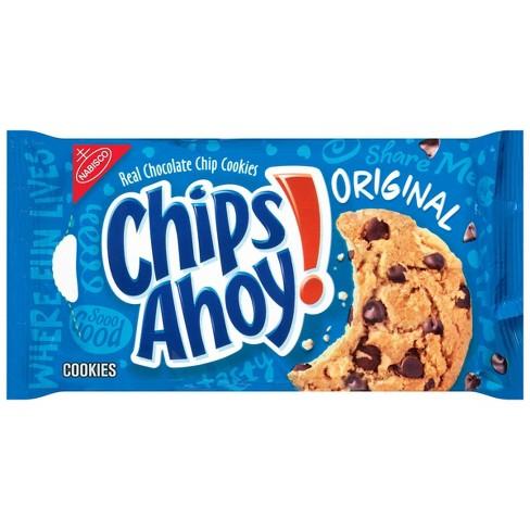 Enjoyable Chips Ahoy Original Chocolate Chip Cookies 13Oz Target Funny Birthday Cards Online Fluifree Goldxyz