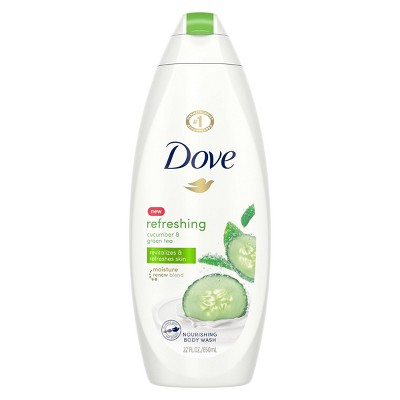Body Washes & Gels: Dove go fresh