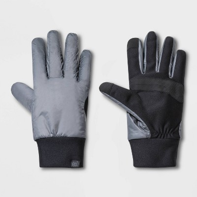Men's Poly Shell Fitness Gloves - All in Motion™ Gray