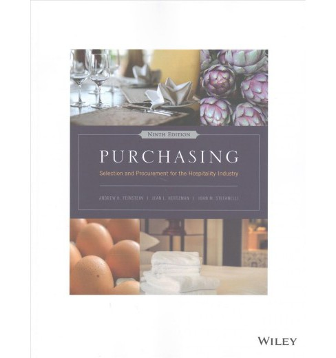 Purchasing : Selection and Procurement for the Hospitality Industry -  (Paperback) - image 1 of 1