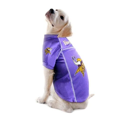 official photos 6e68c 88cc5 Minnesota Vikings Little Earth Pet Football Jersey - Purple ...