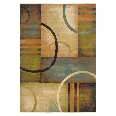 Eternity Circles Contemporary Area Rug - image 1 of 1