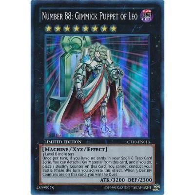 CT10-EN013 Number 88 Gimmick Puppet of Leo Super Rare Mint YuGiOh Card