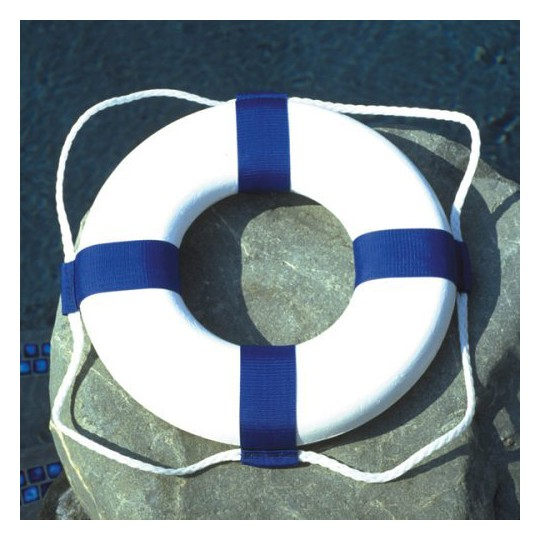 "Poolmaster Plastic Ring Buoy - 19"" image number null"