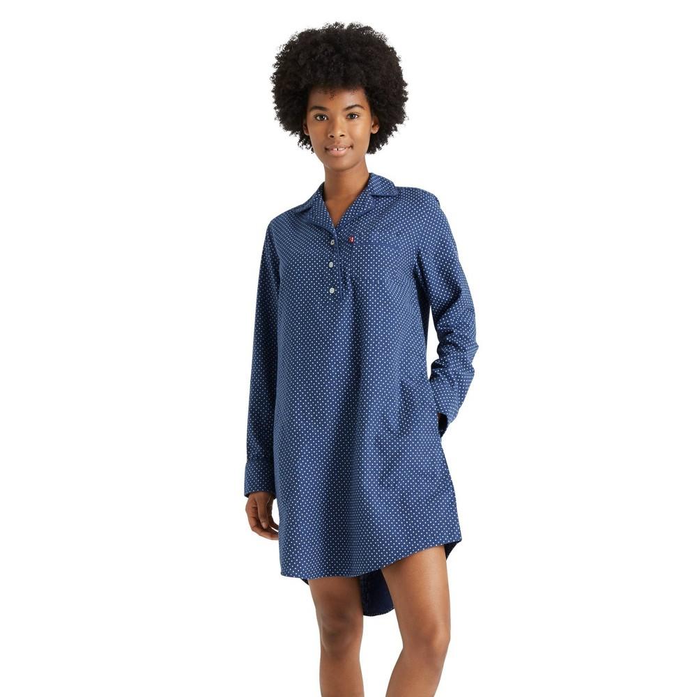 Women 39 S Polka Dot Woven Sleep Shirt Levi 39 S 174 X Target S