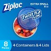 Ziploc Twist 'n Loc Extra Small Containers - 4ct - image 2 of 4
