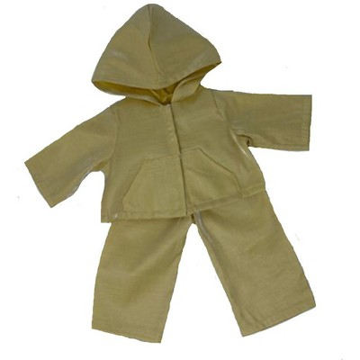 Doll Clothes Superstore Yellow Rain Suit Fits 18 Inch Girl Dolls Like American Girl Dolls