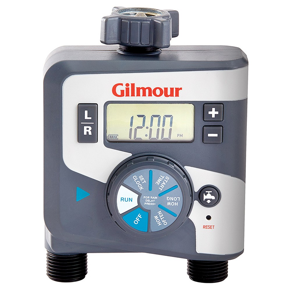 Image of Gilmour Electrical Timer, Dual Outlet