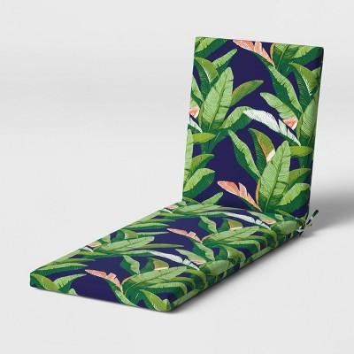 Outdoor Chaise Cushion DuraSeason Fabric™ Banana Leaf - Threshold™