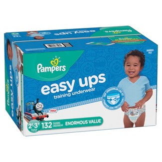 Pampers Easy Ups, Boys' Training Pants Enormous Pack - 2T-3T (132ct)