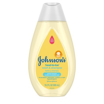 Johnson's Head-To-Toe Baby Wash and Shampoo - 10.2 fl oz