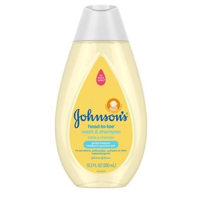 Johnson's Head-To-Toe Baby Wash and Shampoo - 10.2 fl oz