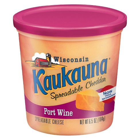 Kaukauna Port Wine Spreadable Cheese - 6.5oz - image 1 of 1