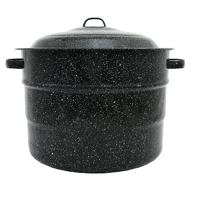 Columbian Graniteware 21.5qt Water Bath Canner Pot