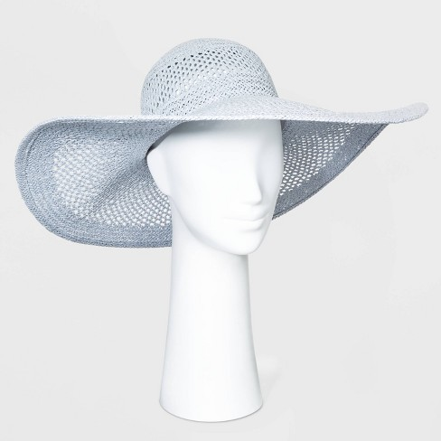 Women's Open Weave Floppy Hats - A New Day™ One Size - image 1 of 1