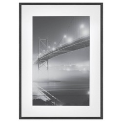 Thin Gallery Matted Photo Frame Black - Project 62™