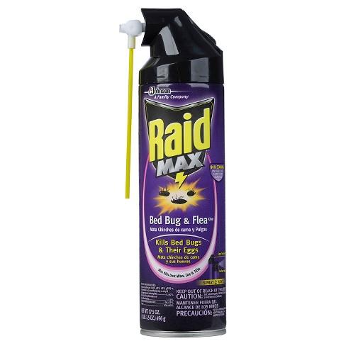 Raid Max Bed Bug & Flea Killer I, 17.5oz - image 1 of 1