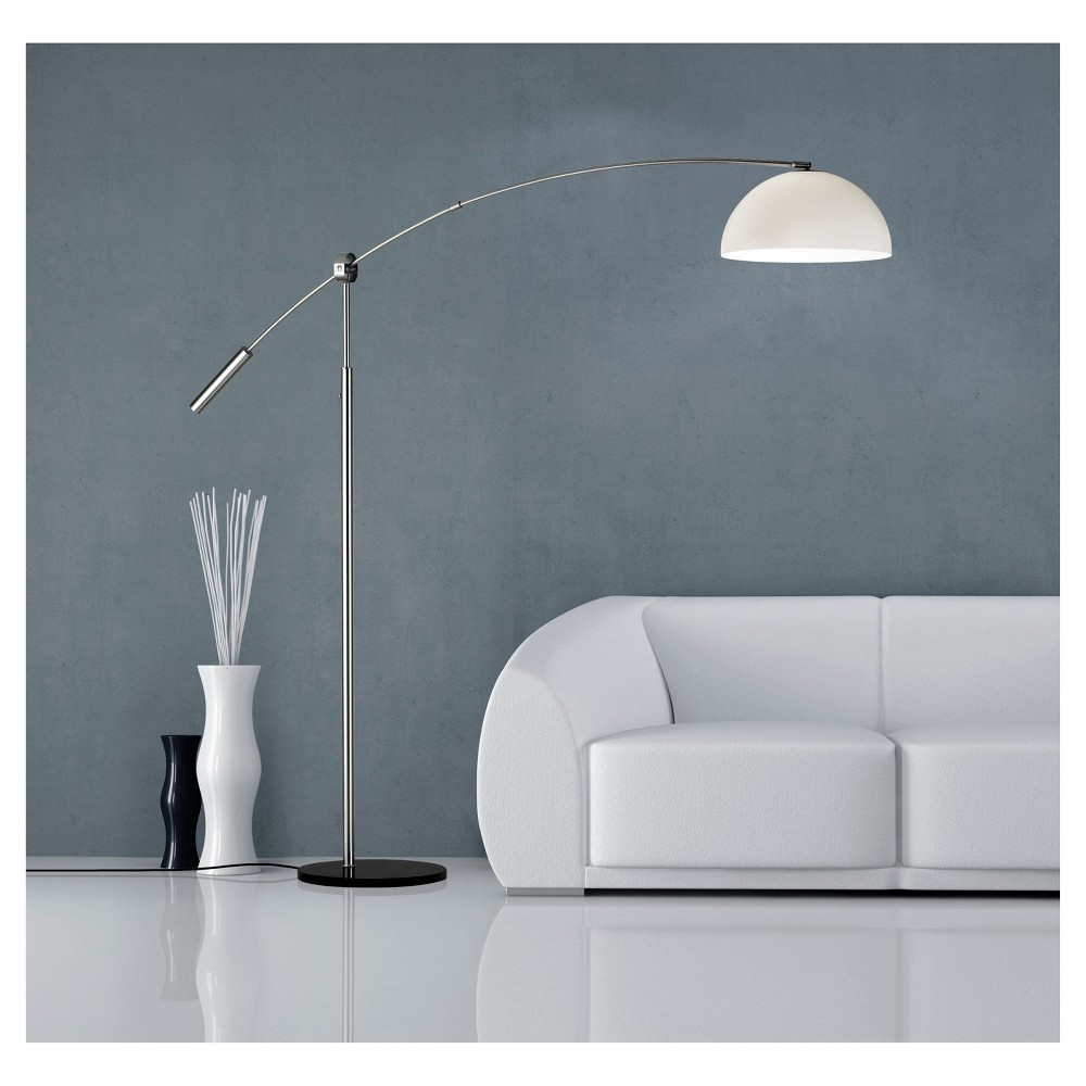 Image of Adesso Outreach Arc Lamp - Silver