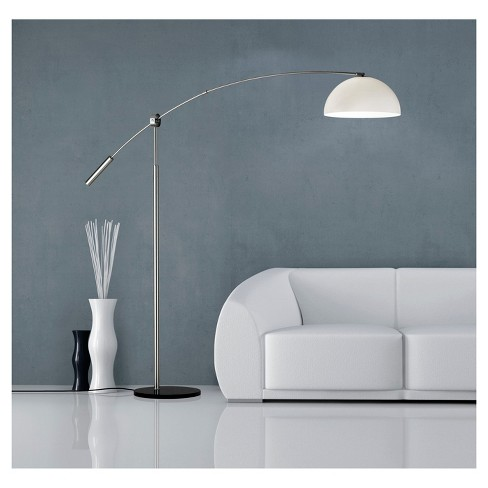 Adesso Outreach Arc Lamp Silver Lamp Only Target