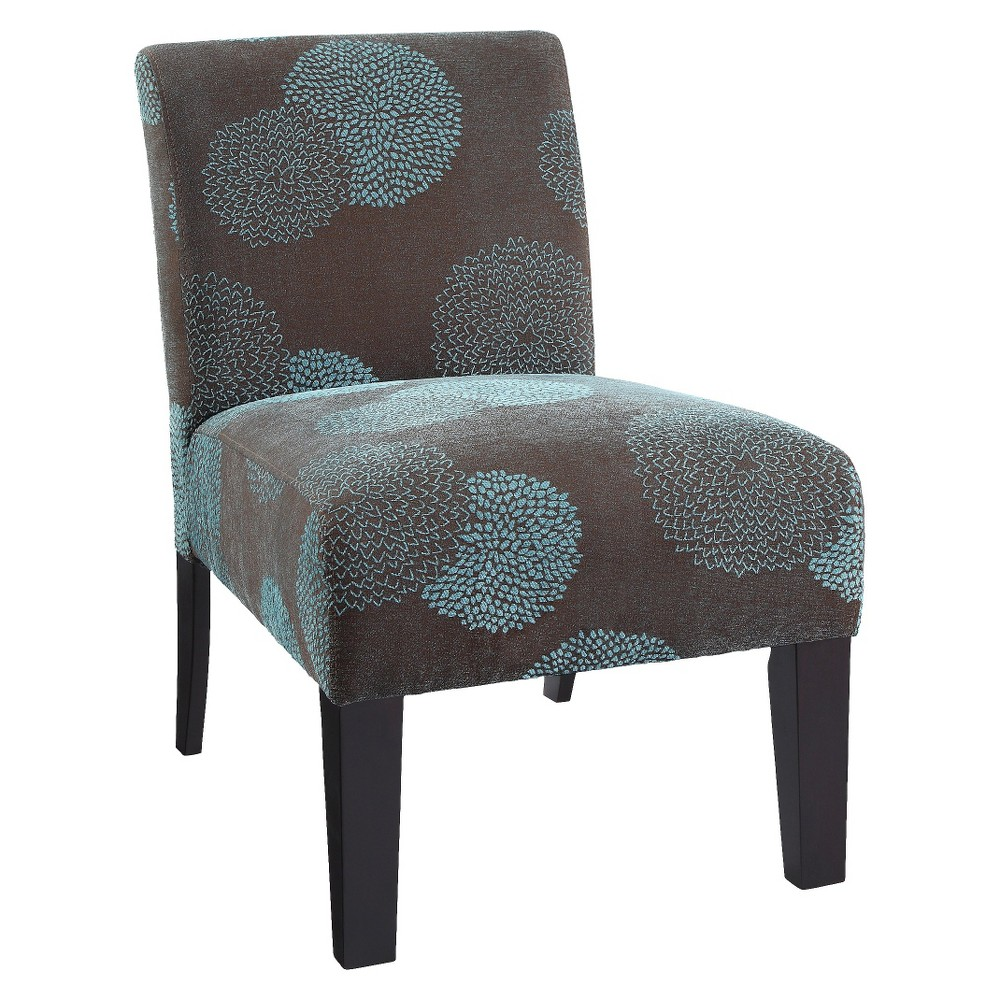 Image of Sunflower Deco Accent Chair Blue - DHI