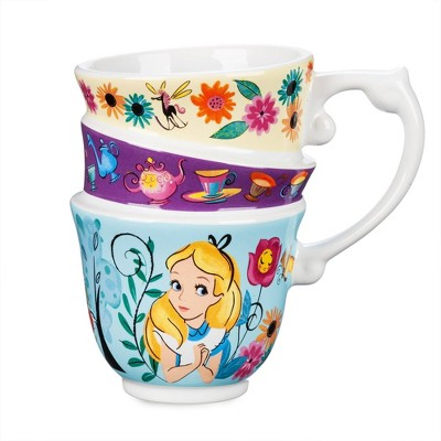 Disney Alice in Wonderland 10oz Stoneware Figural Mug - Disney store
