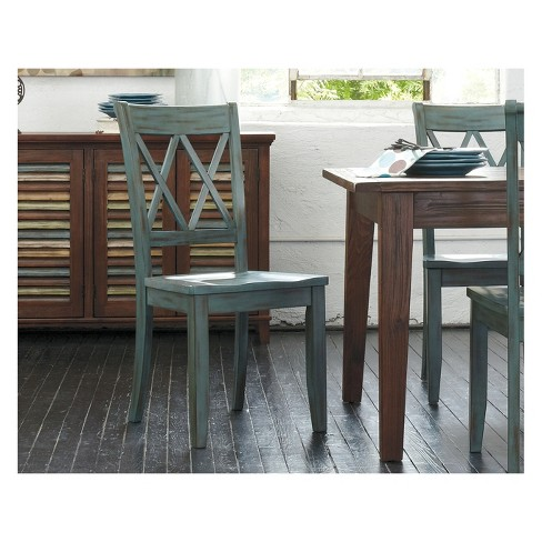 2pc Mestler Dining Room Side Chair Green Signature Design By Ashley Target