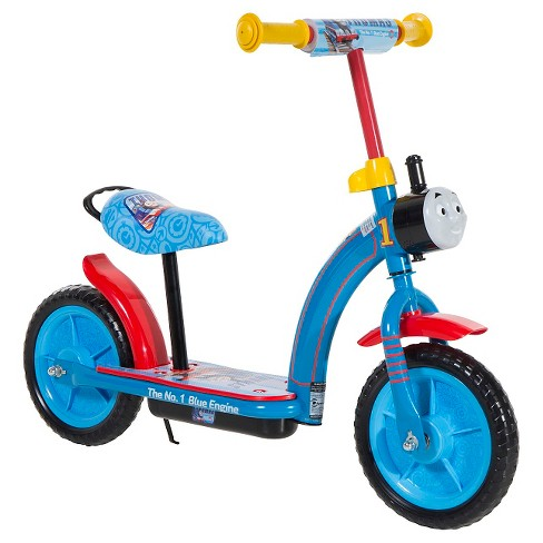 "Thomas & Friends (10"") 2-in-1 Balance Bike & Scooter - Blue - image 1 of 5"